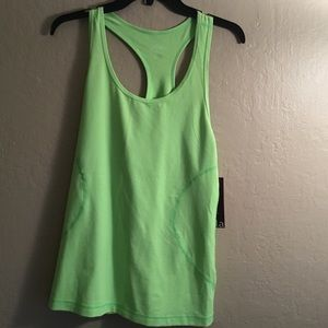 Zella bright green work out top